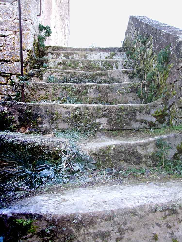 L'escalier de pierres